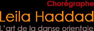 Leila Haddad Chorégraphe l'art de la danse orientale logo