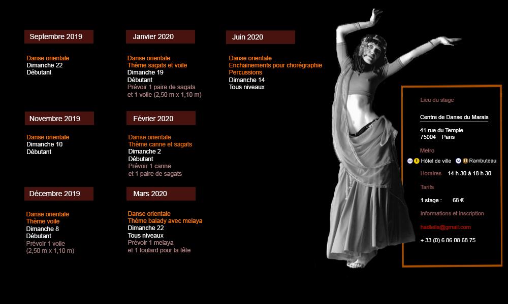 Leila Haddad Stages 2019/ 2020