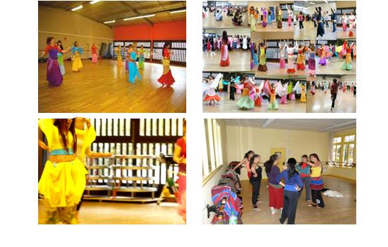 Leila Haddad Cours & Stages de danses orientale formation