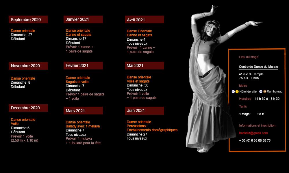 Leila Haddad stages
